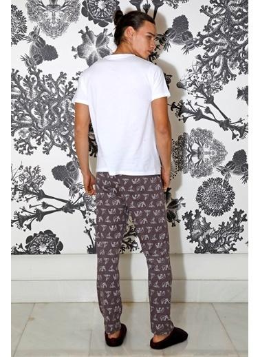 Hays Erkek Penye 2li Pijama Takımı Mor